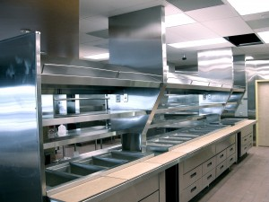 commercial kitchen hood filter cleaning
